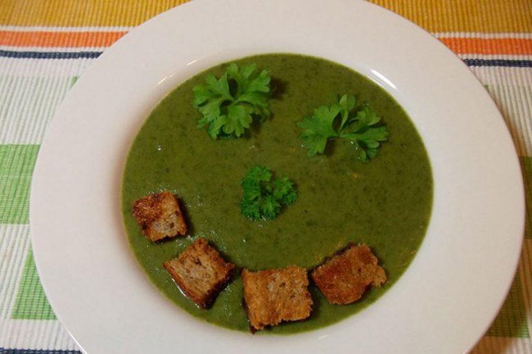 rezept f r eine delikate vegane spinat kresse suppe vamily. Black Bedroom Furniture Sets. Home Design Ideas