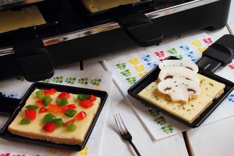 Vegane Raclette Pfannen