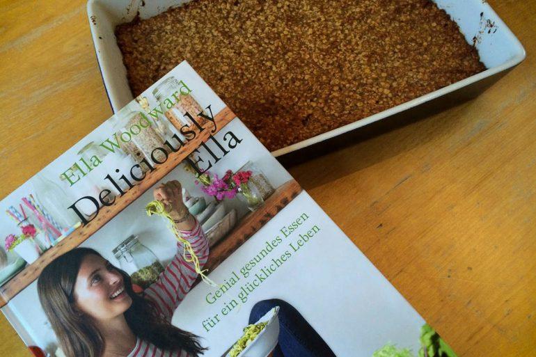 Delicious Ella Kochbuch mit Haferkeksen