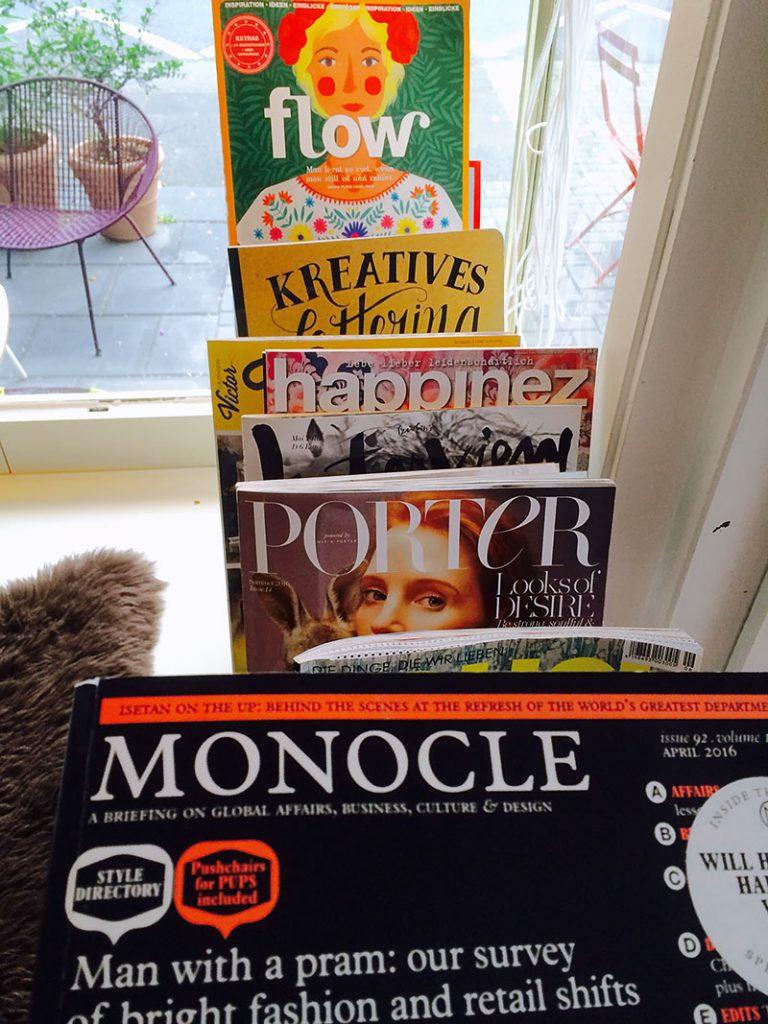 Alternative Zeitschriften im Poppla Bonn