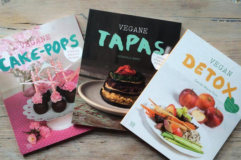 3 Kochbücher von Neun Zehn Verlag