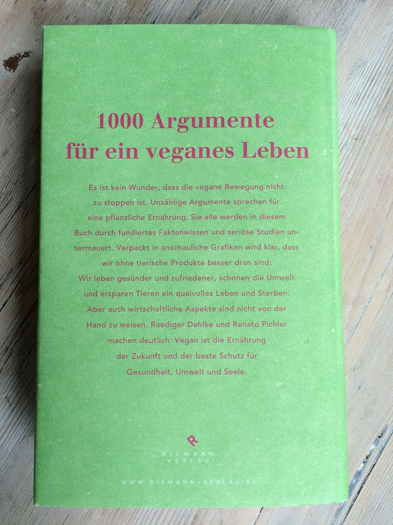Veganize your Life Buch Rückseite
