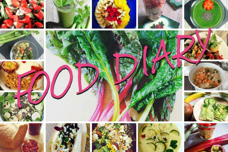 Viele vegane Gerichte