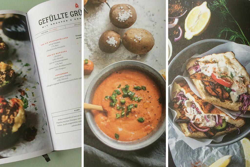 vegan Grillen Rezepte aus dem Buch