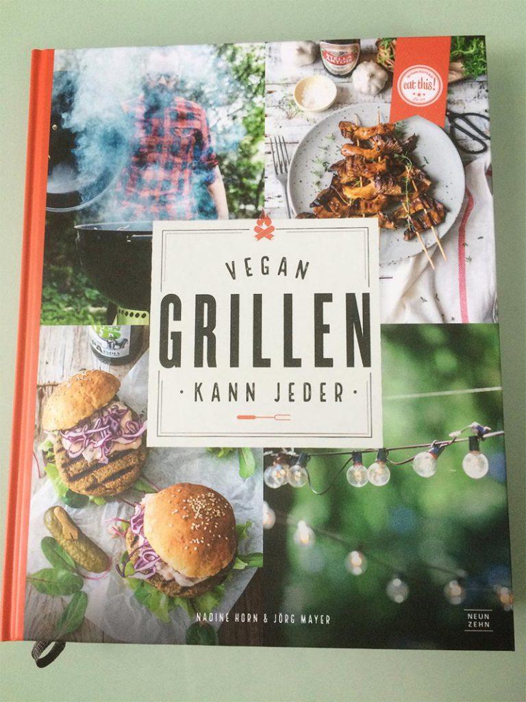 Vegan grillen kann jeder Buchcover vorne