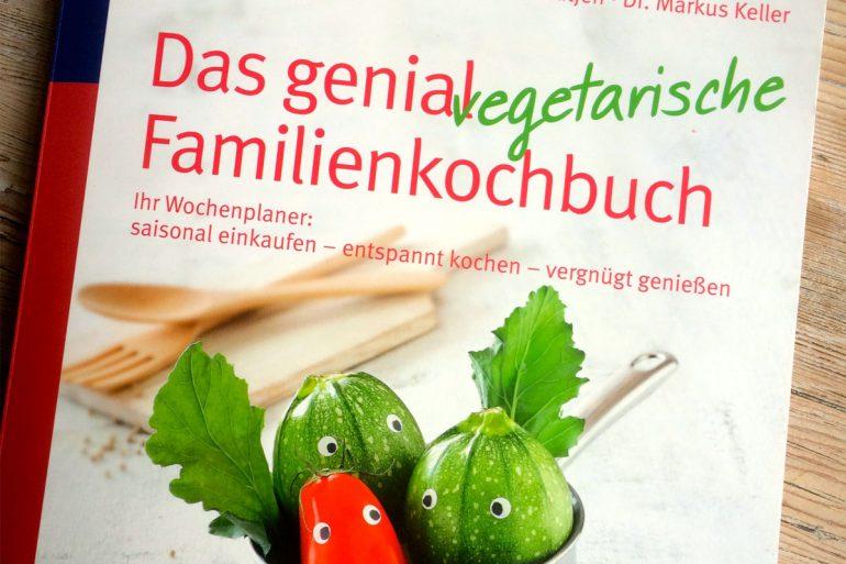 Buchcover von Das genial vegetarische Familienkochbuch