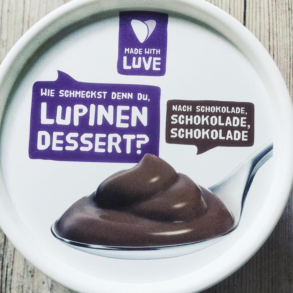 Packung Lupinen Dessert Schoko von Made with Luve