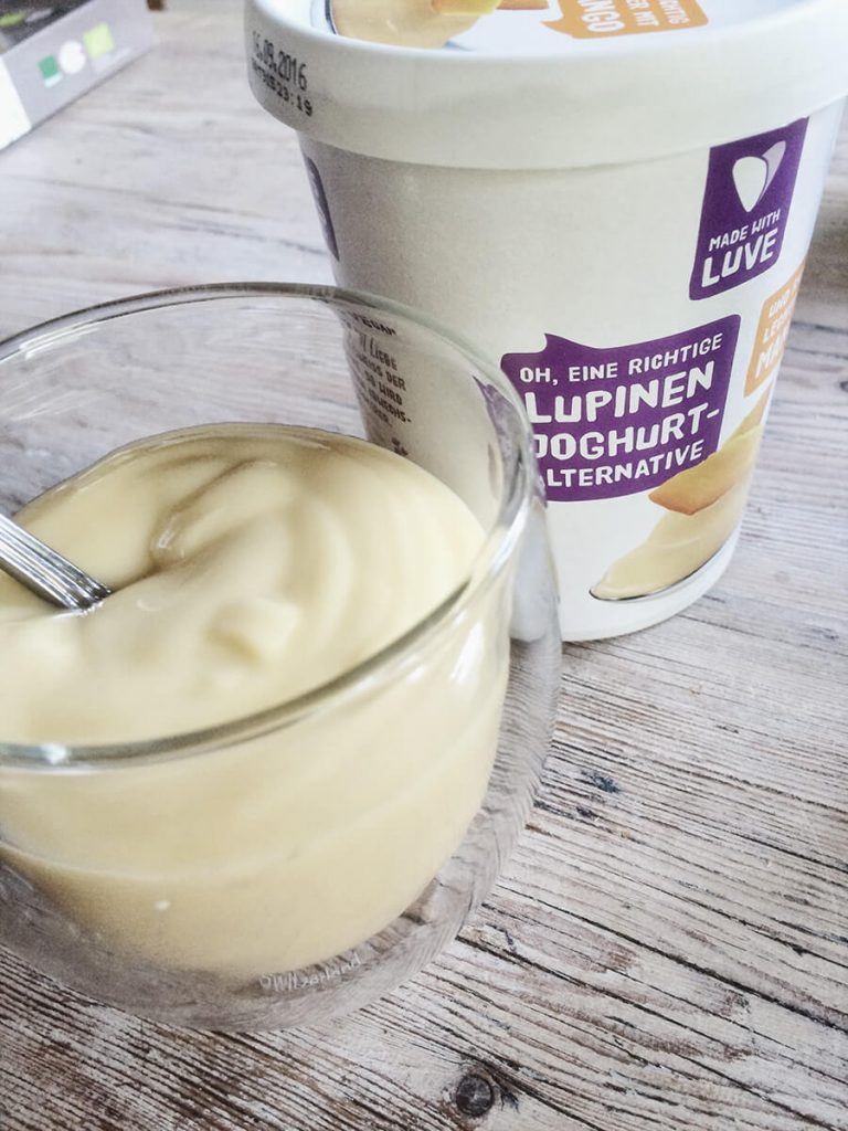 Lupinen Joghurt Alterntive Mango von Made with Luve