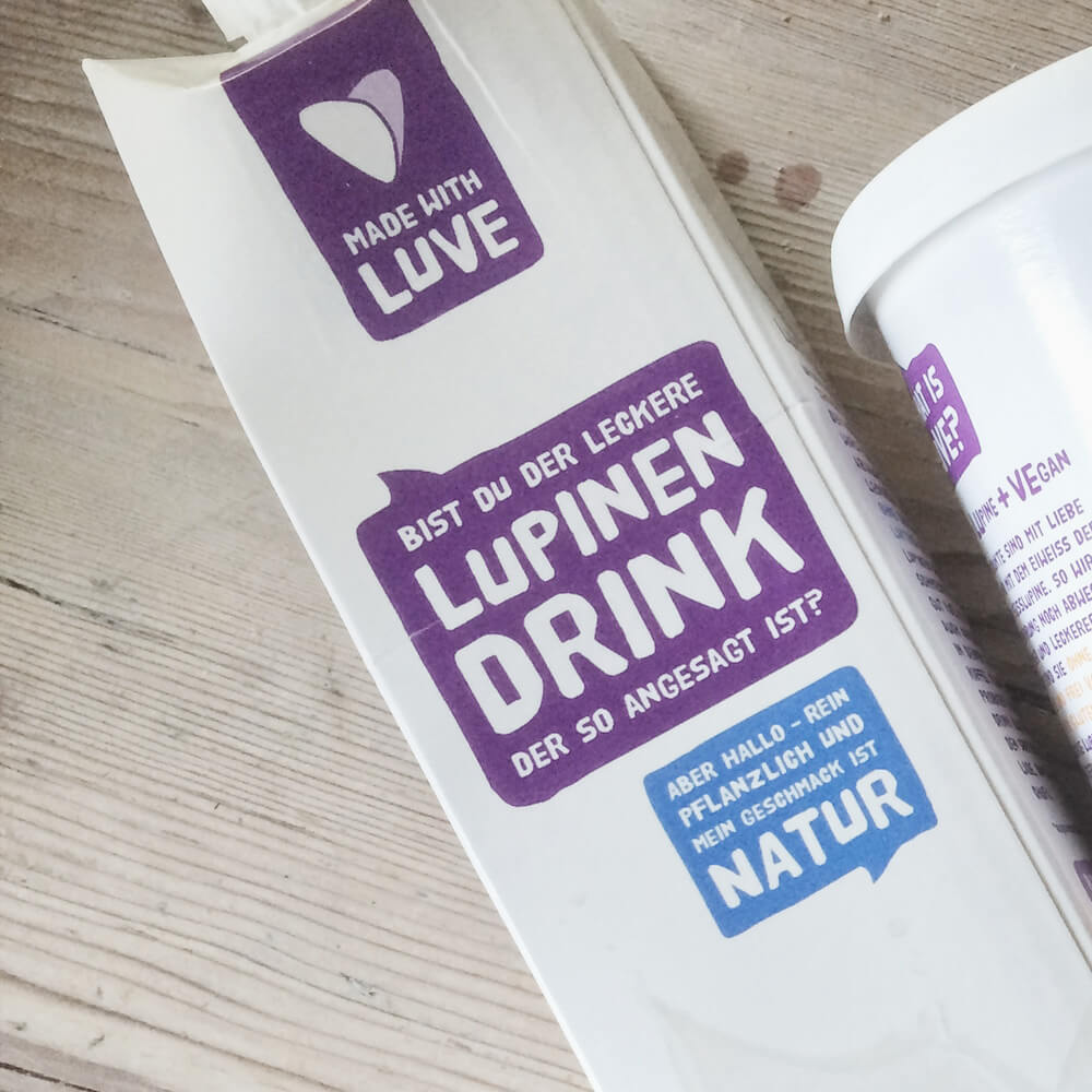 Packung Lupinen Drink Natur von Made with Luve