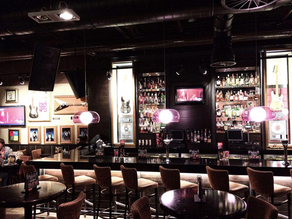 Rockiges Ambiente im Hard Rock Cafe Köln