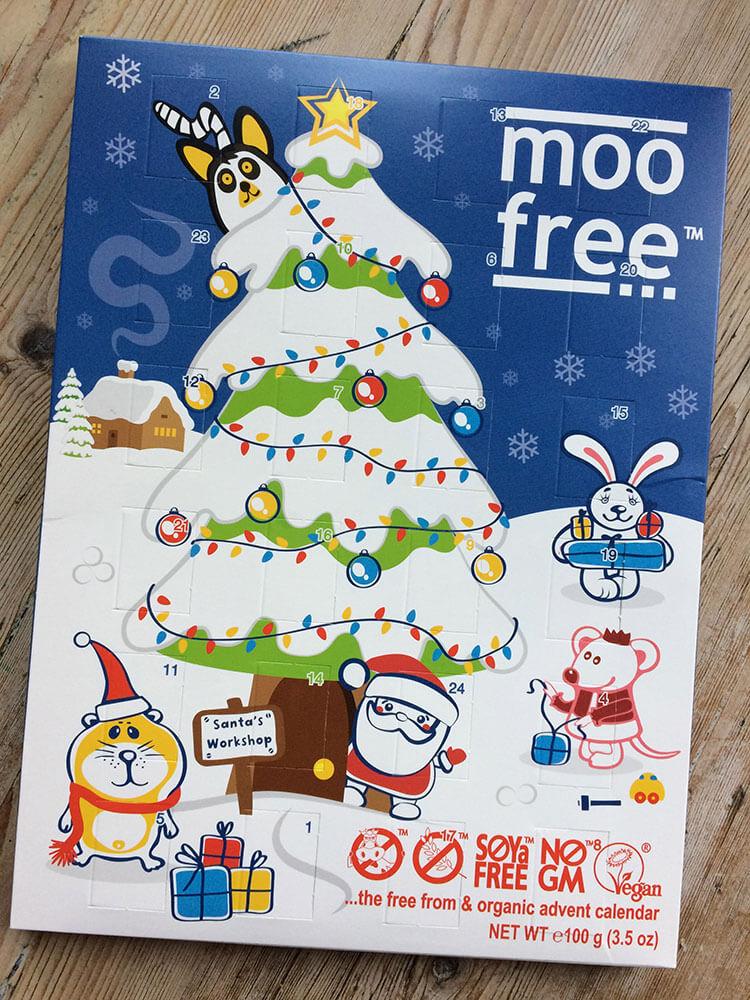 Veganer Weihnachtskalender.Moo Free Veganer Adventskalender Vamily