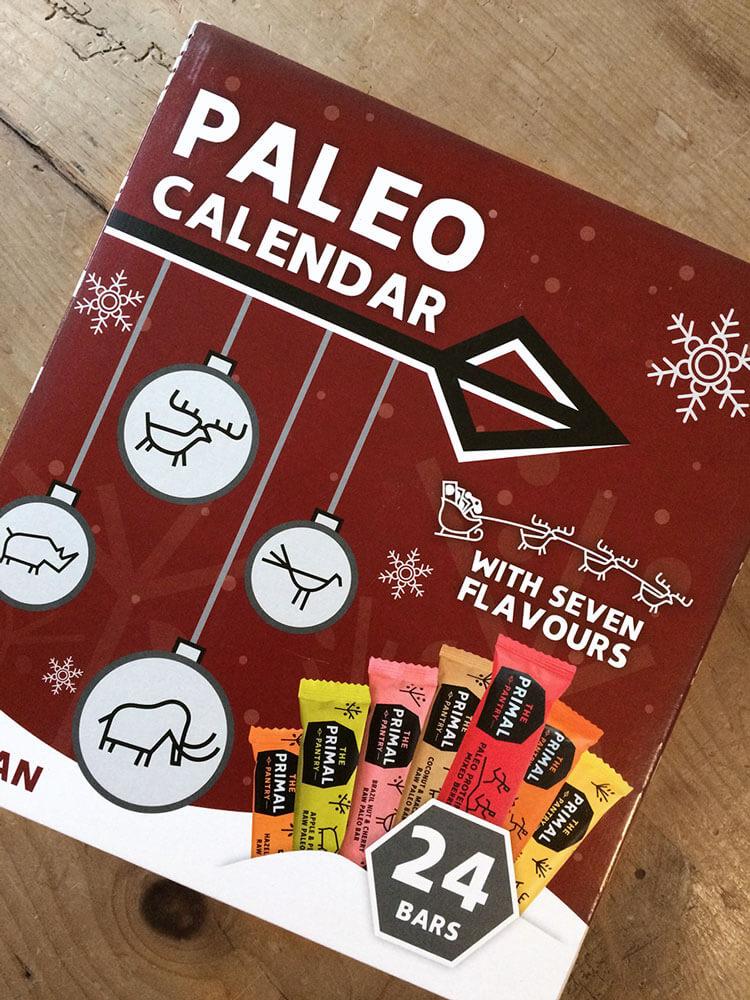 Paleo vegan Adventskalender Verpackung