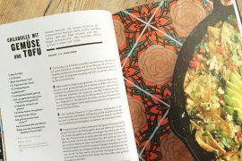 Rezeptseite Chilaquiles mit Gemüse und Tofu