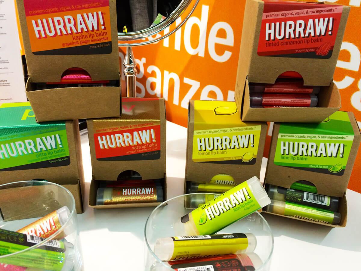 Vegane Lippenstifte von Hurraw