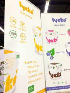 Lycka Frozen Yogurt Schilder