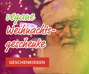 vegane Weihnachstgeschenke Banner