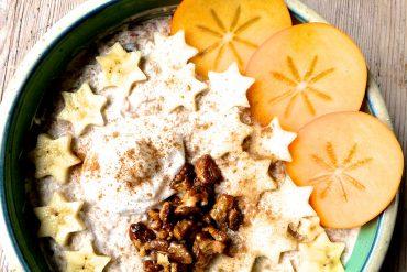 Vegan Christmas Breakfastbowl