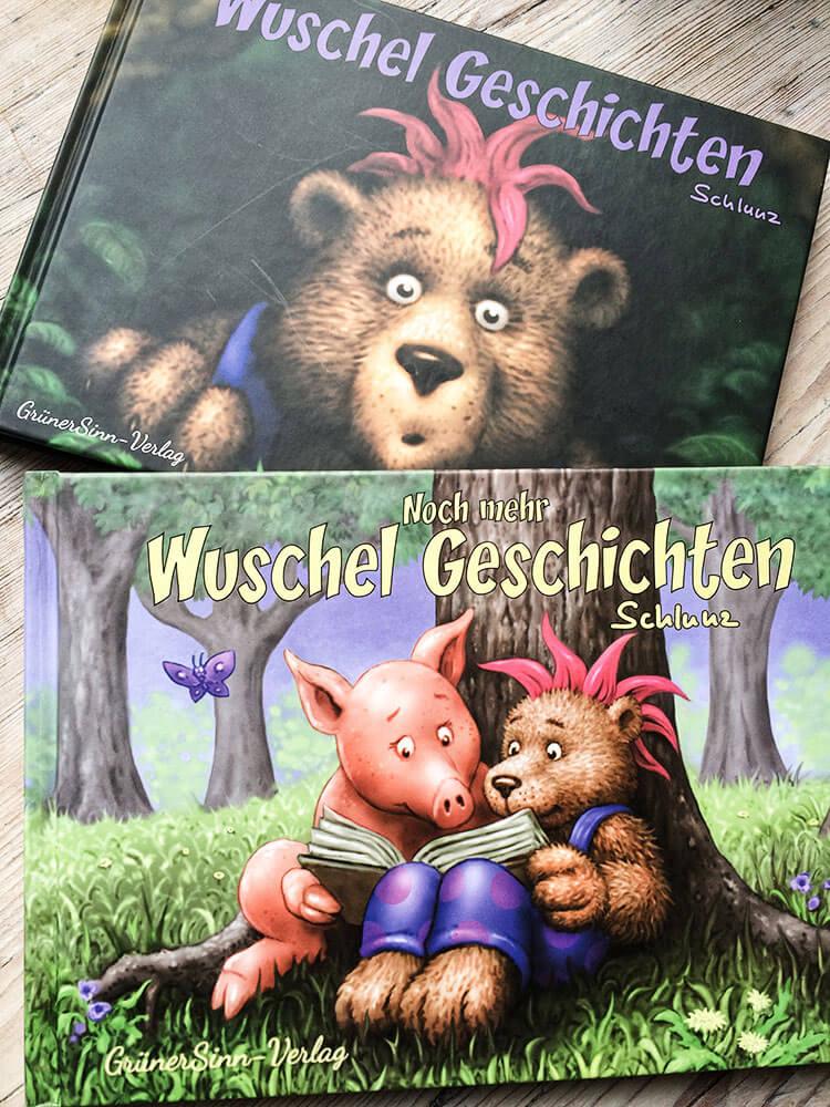 Wuschel Geschichten Band 1 und Band 2