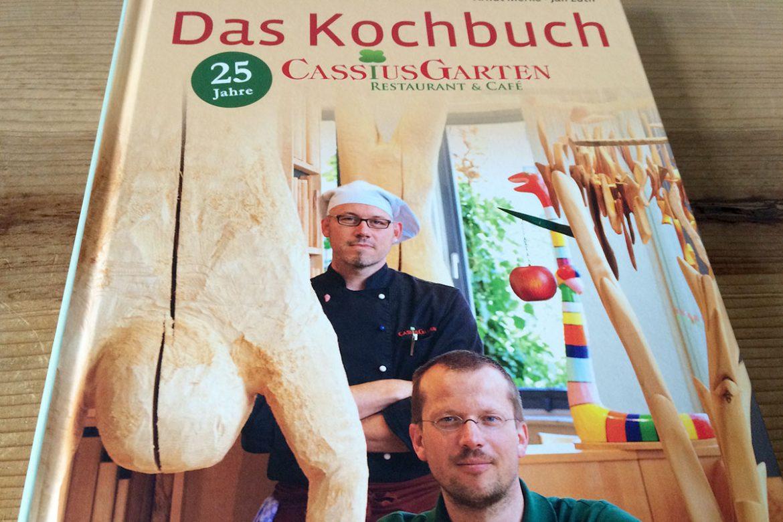 Cassius Garten Kochbuch Cover