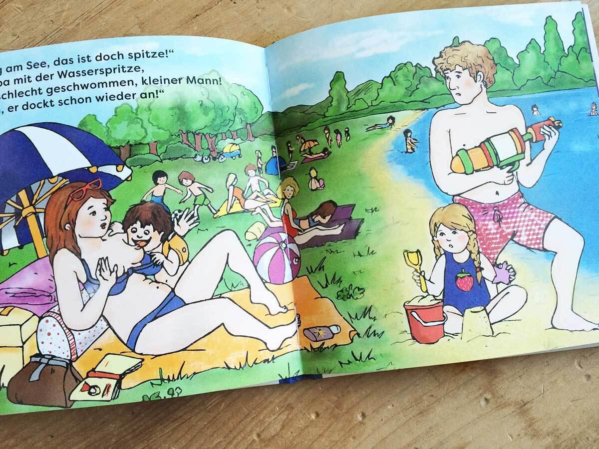 Der kleine Milchvampir - Blick ins Buch