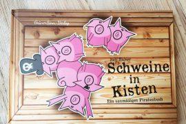 Buchcover Schweine in Kisten
