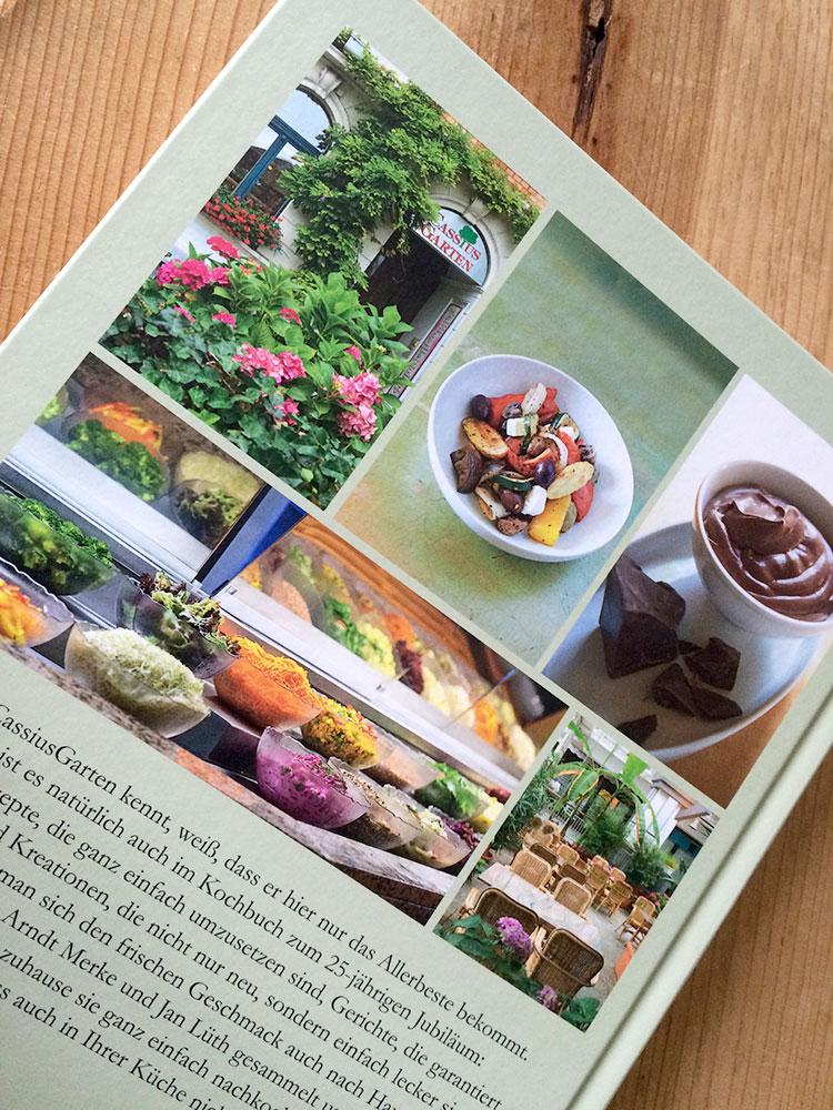 Kochbuch Cover hinten