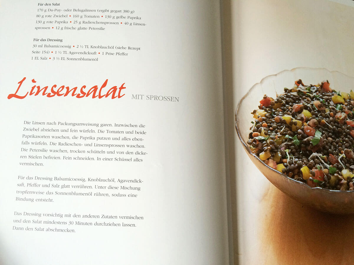 Rezept Linsensalat