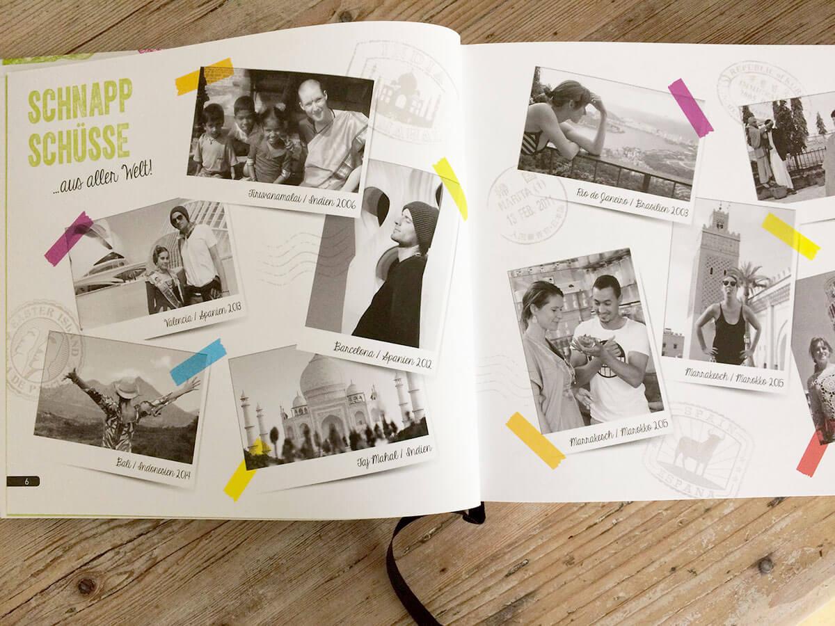 Autoren Jens Schmitt und Miriam Spann mit Schnappschüssen aus aller Welt