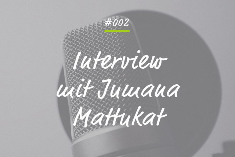 Podcastfolge mit Jumana Mattukat