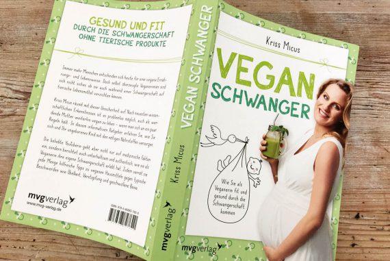 Vegan schwanger Buchcover