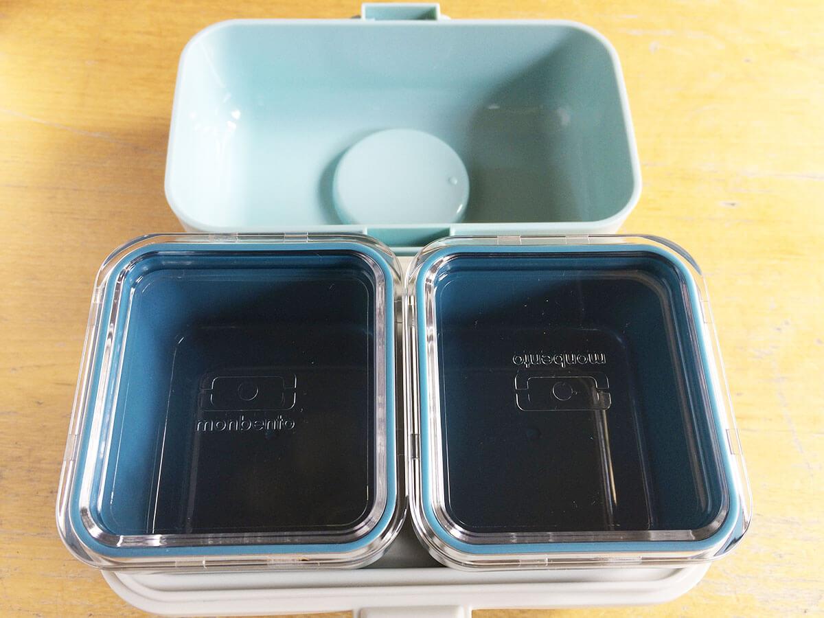 Monbento Lunchbox gestapelt