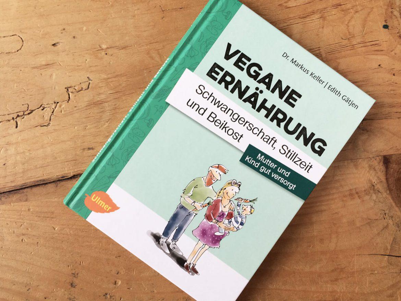 Vegane Ernährung Schwangerschaft Ratgeber - Buchcover