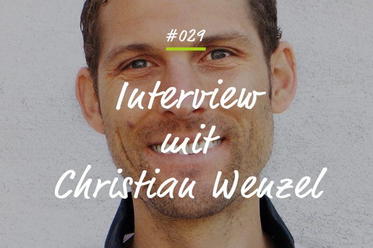 Podcastfolge mit Christian Wenzel