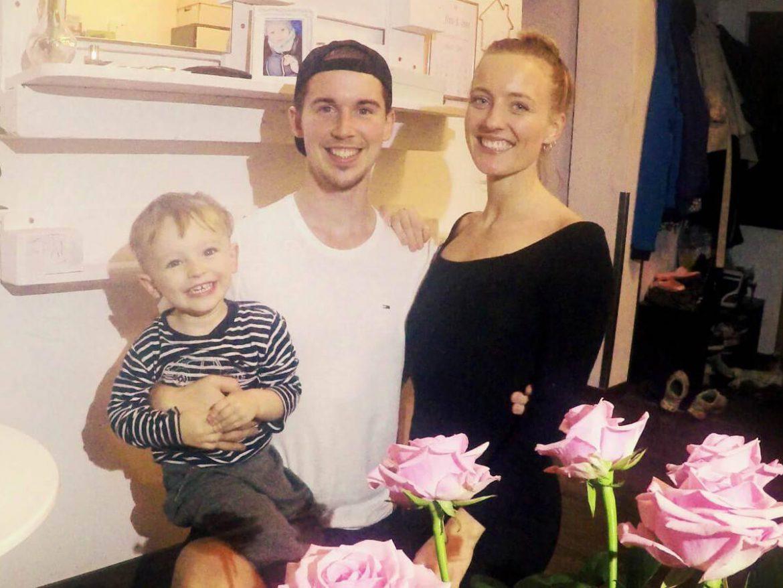 Jens Schimmelpfennig mir seiner Familie
