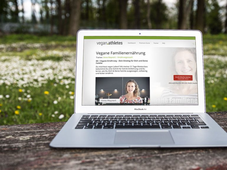 Vegan Athlets Lab Online Kurse