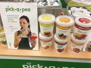 Veganfach Messestand Pick a Pea