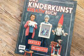 Das Kinderkunst Kreativbuch - Bastelbuch Cover