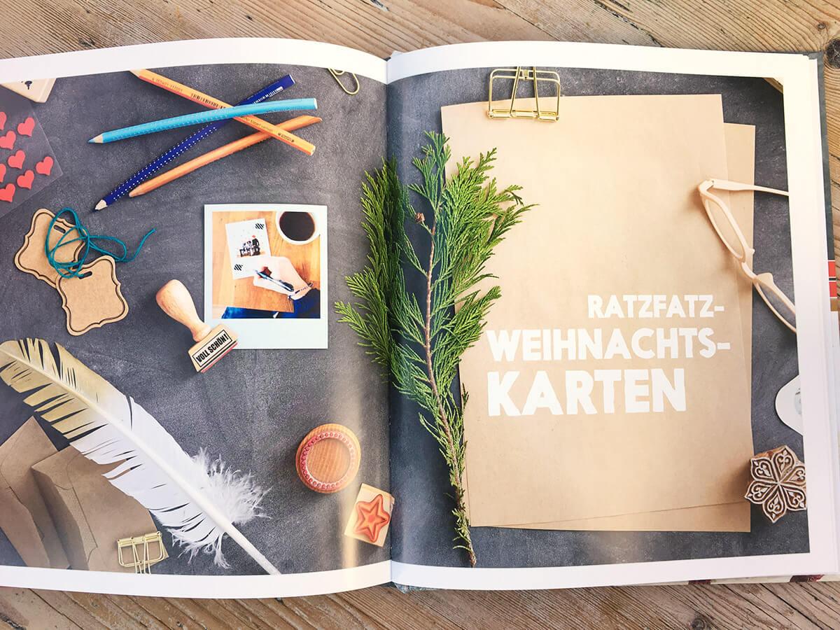 Das Kinderkunst Kreativbuch - Weihnachtsbastelbuch
