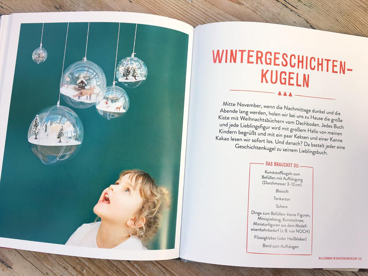 Das Kinderkunst Kreativbuch - Bastelanleitung Weihnachtskugeln