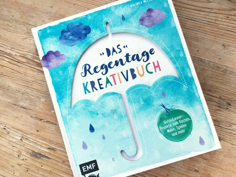 Das Regentage Kreativbuch - Buchcover