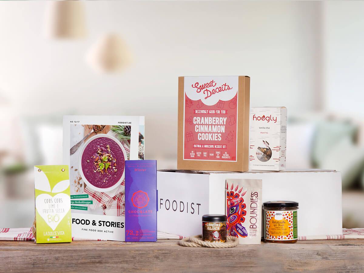 Foodist Fine Food Active Box
