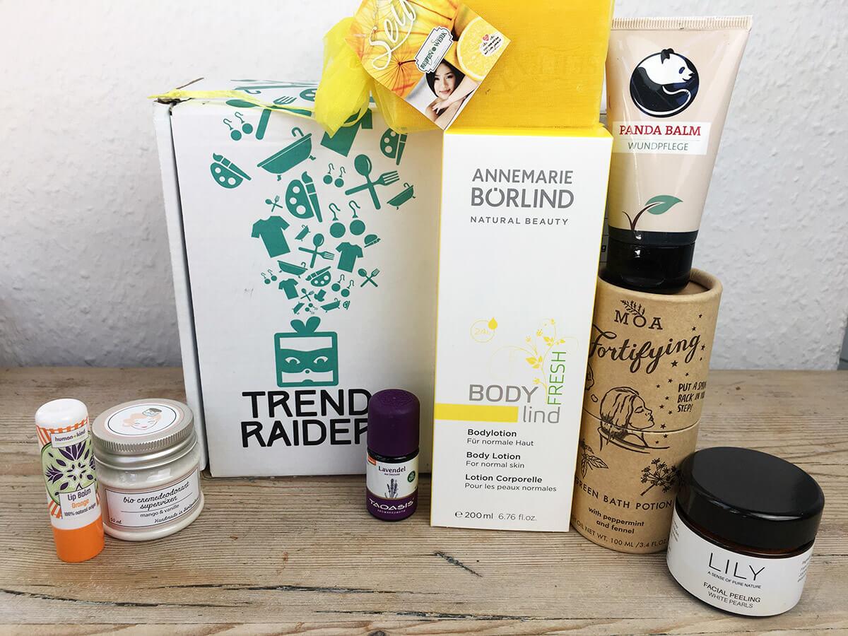 Trendraider Beautybox Inhalt
