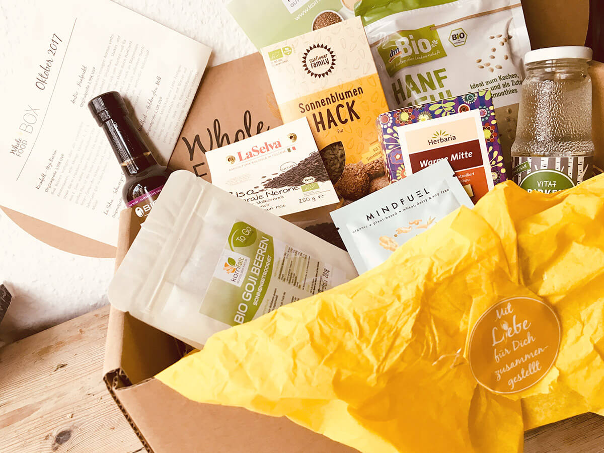 Wholefood Vegan Box