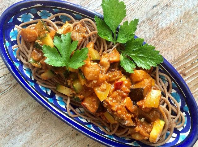 Spaghetti a la Mama unpürierte Variante