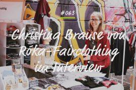 Podcastfolge Christina Brause Roka Fairclothing