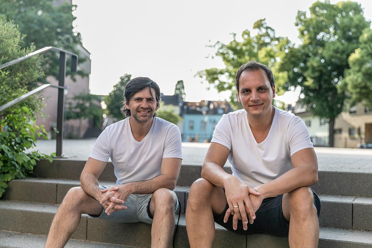Bonn Memo Erfinder: Marco und Sascha