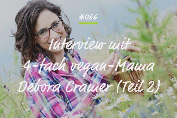 Podcastfolge Debora Cramer Teil 2