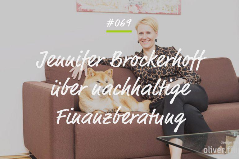Podcastfolge Jennifer Brockerhoff nachhaltige Finanzberatung