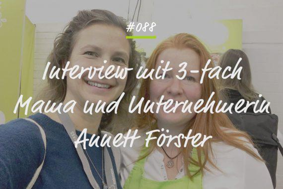 Podcastfolge Anett Förster