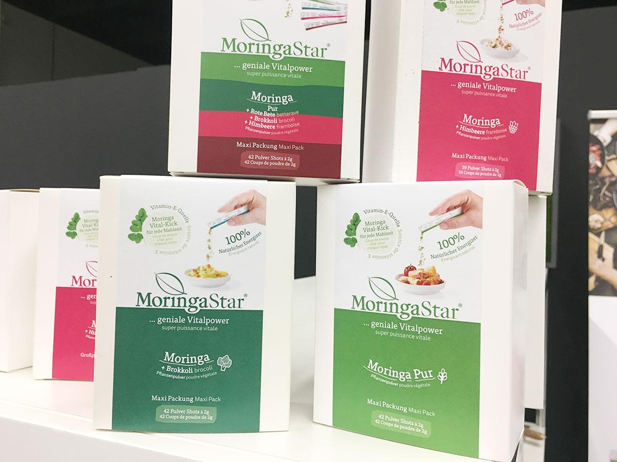 Moringastar Packungen